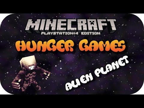 Minecraft PS4 Hunger Games Alien Planet (Face Cam)