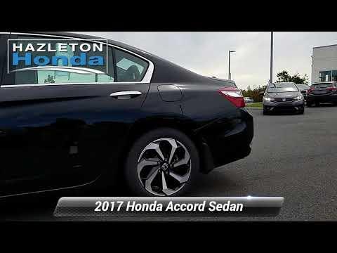 Used 2017 Honda Accord Sedan EX-L V6, Hazle Township, PA ZH1263