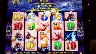 timberwolf slot machine bonus round mega retrigger handpay