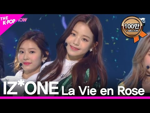 IZ*ONE, La Vie en Rose [THE SHOW 181120]