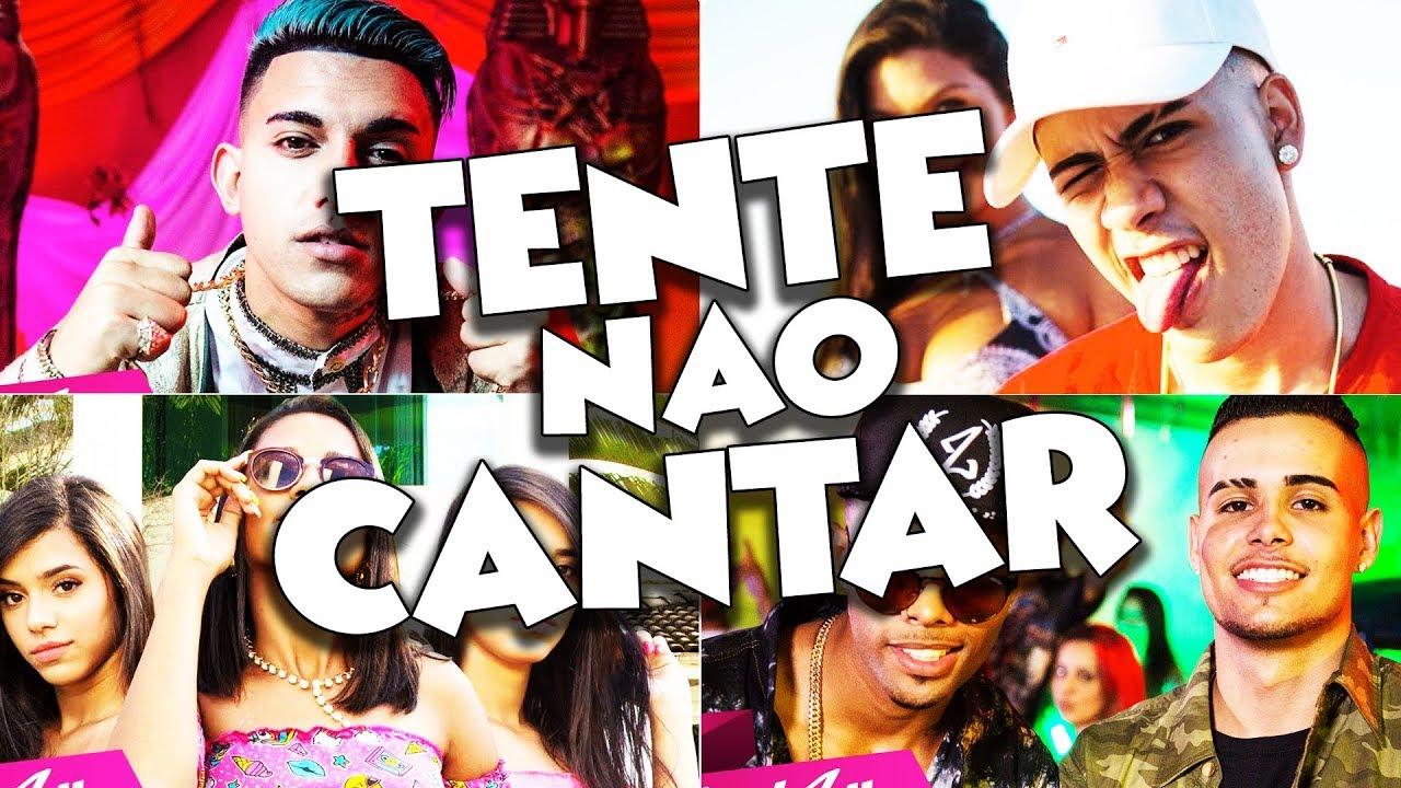 Tente Não Cantar e Não Dançar Funk 2018 (Desafio da Música Funk - Muito Difícil!)