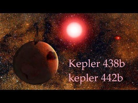 C'E' VITA SUI NUOVI ESOPIANETI SCOPERTI DA KEPLER? - KEPLER-438b KEPLER-442b