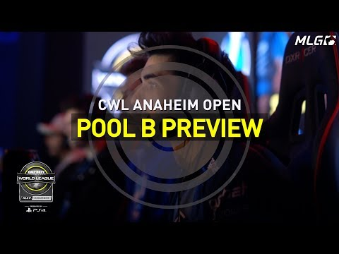 CWL Anaheim Open Pool B Preview, Presented by PlayStation!