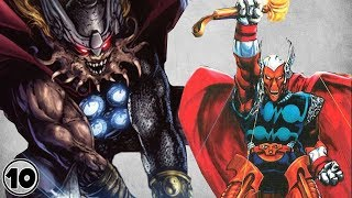 Top 10 Alternate Versions Of Thor - Part 2