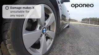 Run Flat Tyres ● Hints from Oponeo™(Run-flat tyre allows us to continue safe driving even after significant tire pressure drop usually caused by mechanical damage or puncture. Depending on used ..., 2016-01-28T08:35:11.000Z)