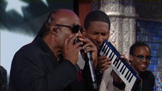 Stevie Wonder Performs The Star Spangled Banner
