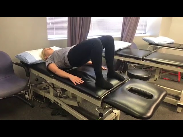 Clinical Pilates - Spine Curl / Segmental Bridge