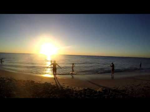 Sun Set Beach Time Lapse Perth Western Australia