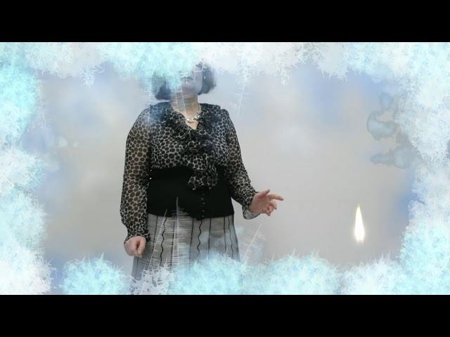 Изображение предпросмотра прочтения – ТатьянаПлотникова читает произведение «Свеча горела на столе» Б.Л.Пастернака