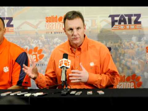 Clemson introduces new offensive coordinator Chad Morris
