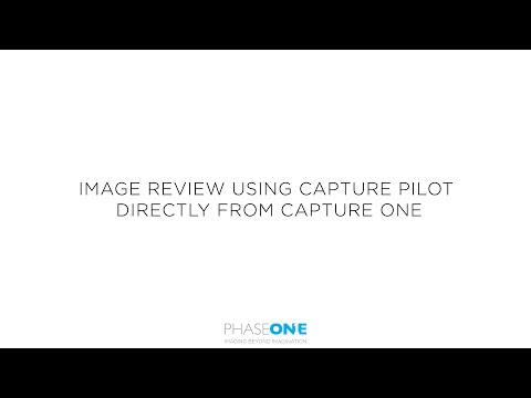 Support | Reviewing images using Capture Pilot directly from Capture One | Phase One