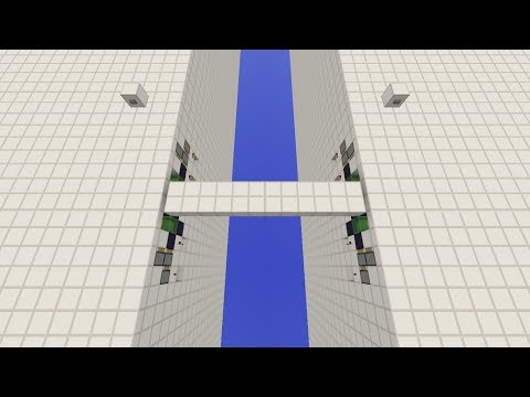 Minecraft 12X2 Piston Drawbridge [1.8]