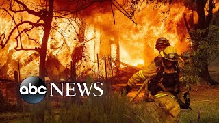 Massive fires forcing thousands to evacuate in California | ABC News