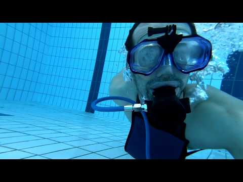 How Long Can You Actually Dive With The MiniDive Tank? - MINIDIVE SCUBA TANK TEST