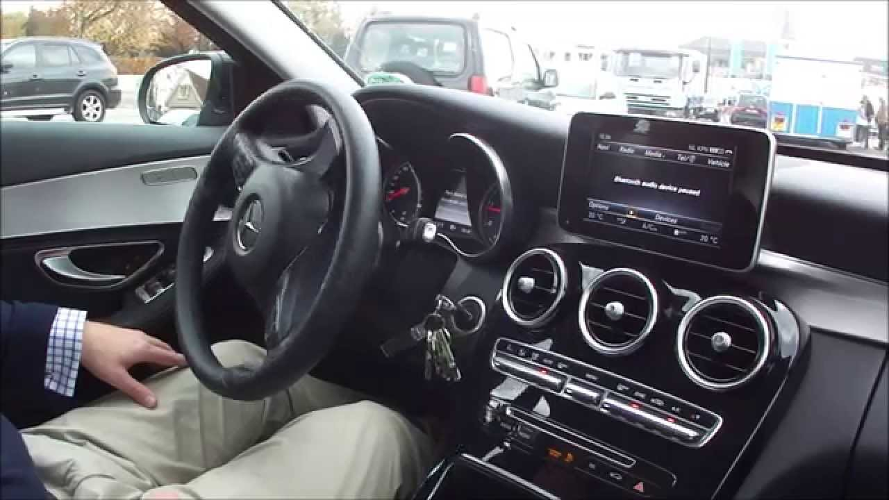 mercedes benz c220 cdi active parking assist youtube. Black Bedroom Furniture Sets. Home Design Ideas