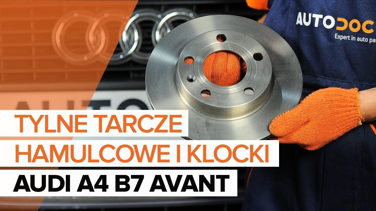 Jak Wymienić Tylne Tarcze Hamulcowe I Tylne Klocki Hamulcowe W Audi