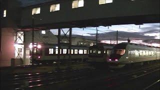 【近鉄名古屋線】富吉駅早朝の始発電車