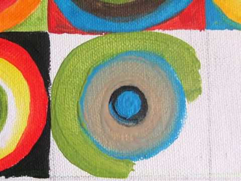 Color Study - Squares With Concentric Circles by Wassily ...