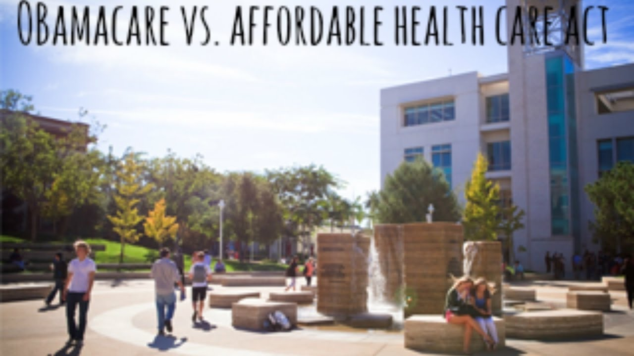 Obamacare vs. The Affordable Health Care Act - YouTube