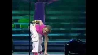 Kylie Minogue Fever 2002 In Concert Live In Manchester 4'th May 2002 MSN Web Cast 14 Limbo