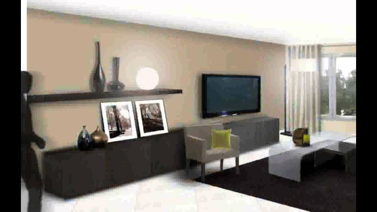 Deco maison contemporaine youtube for Idee deco salon taupe