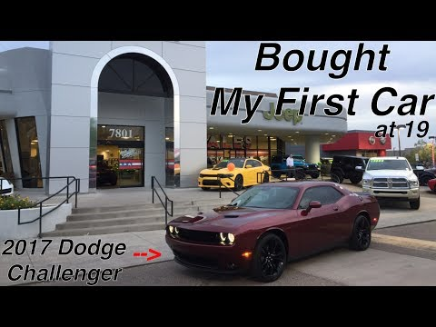 My First Car - 2017 Dodge Challenger SXT Plus - Overview and first impressions