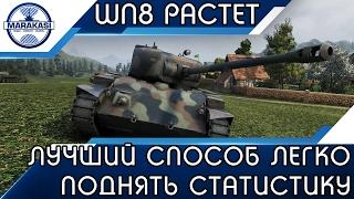 ЛУЧШИЙ СПОСОБ ЛЕГКО ПОДНЯТЬ СТАТИСТИКУ WN8 World of Tanks