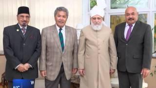 Khalifa meets Prime Minister of Tuvalu