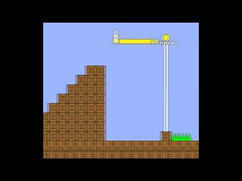 Прохождение в Кэт Марио [Часть #1]-Cat Mario [Part #1]