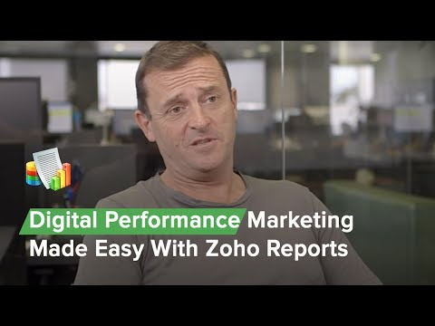 Digital Performance Marketing Made Easy With Zoho Reports