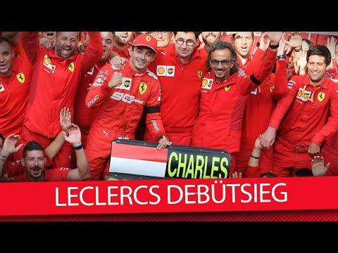Nach tragischem Todesfall: Bittersüßer Debütsieg für Charles Leclerc - Formel 1 2019 (VLOG)