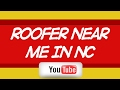 Roofer in Apex NC Near Me