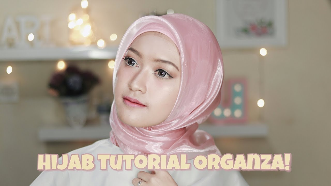 tutorial hijab 2018 simple#1 | natasha.tutorial hijab dan makeup