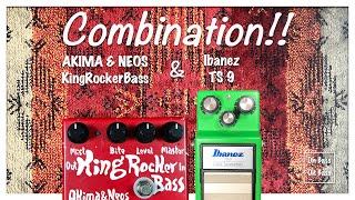 Akima & Neos King Rocker Bass & Ibanez TS 9 combination YouTube Videos