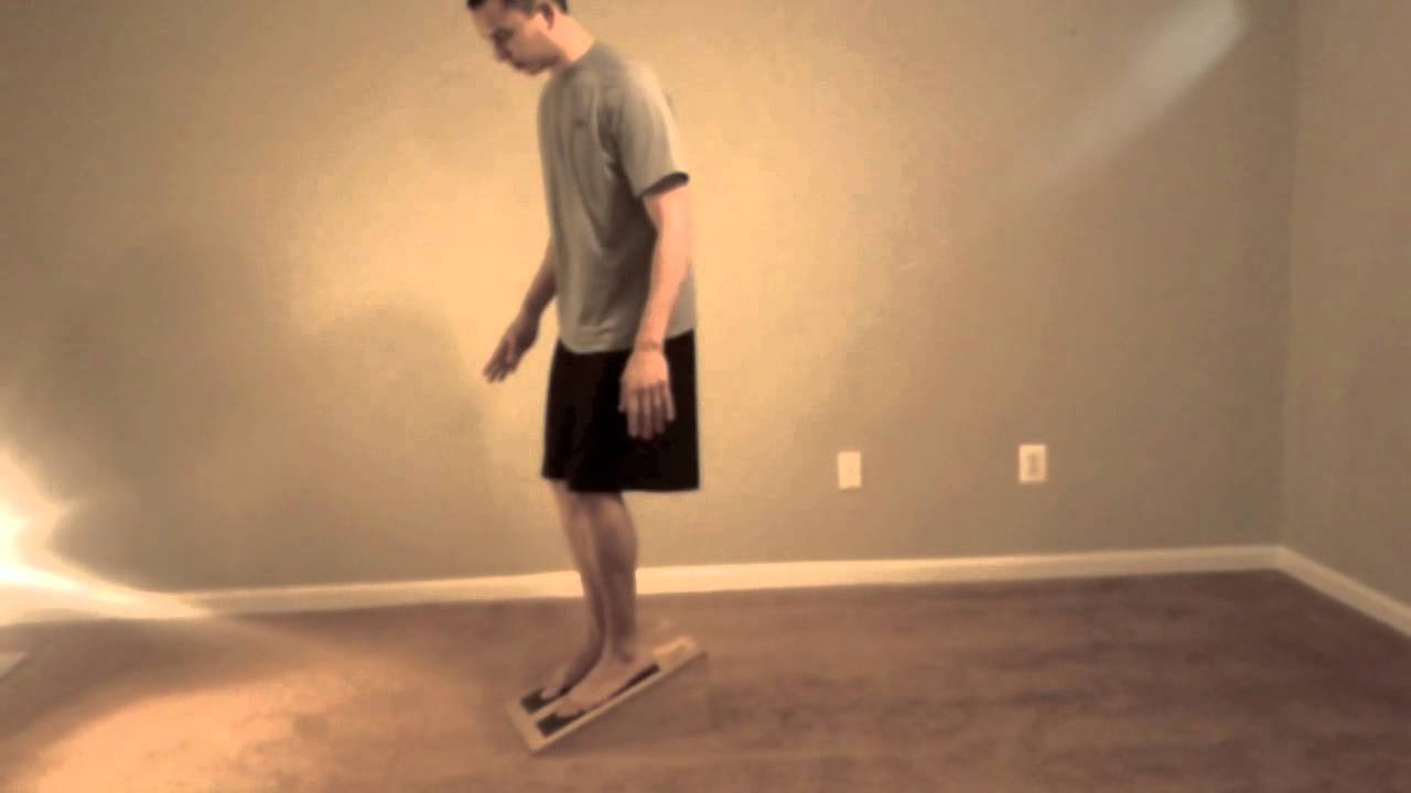 Healing Patellar Tendonitis with a Slant Board and ...