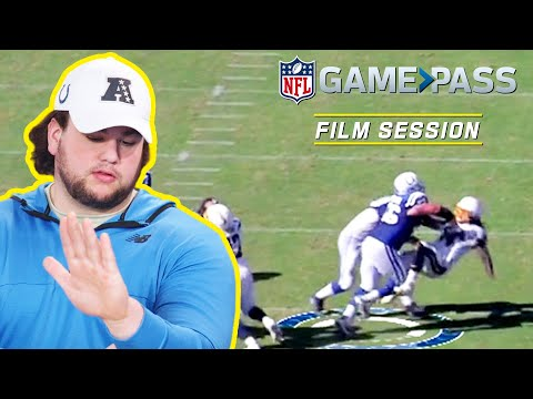 Quenton Nelson Breaks Down Proper Stance, How to Pull, & More! | NFL Film Session