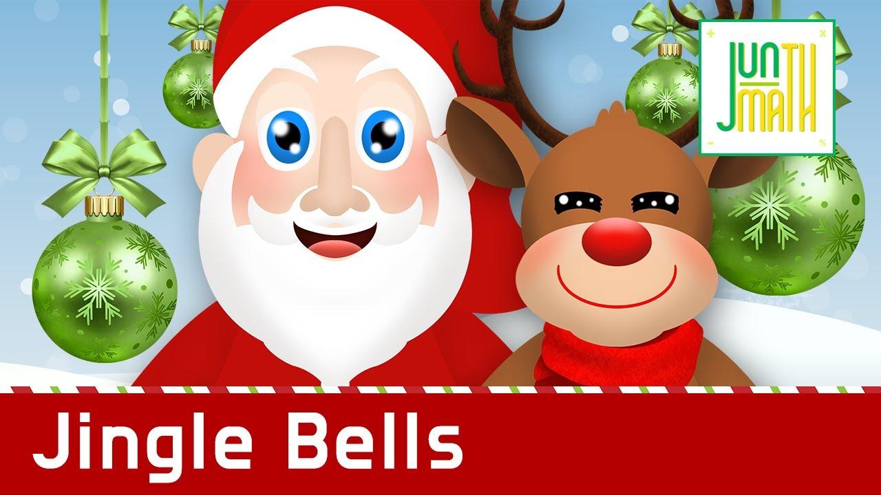Jingle Bells with Lyrics l Christmas Carol l Nursery Rhymes by {Mini Kiddie} - YouTube
