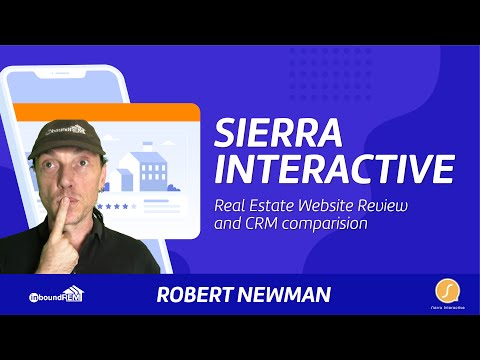 Sierra Interactive Real Estate Website Review and CRM comparision