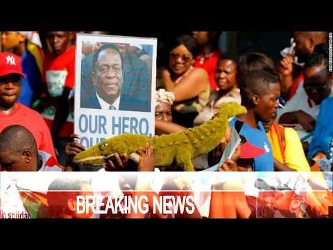 BREAKING NEWS Zimbabwe's CELEBRATION   Mnangagwa returns to lead nation into 'new democracy'