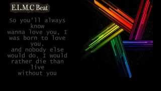 Download Empire - Born to love you (Jussie Smollett) E.L.M.C Beat - Lyric MP3 song and Music Video