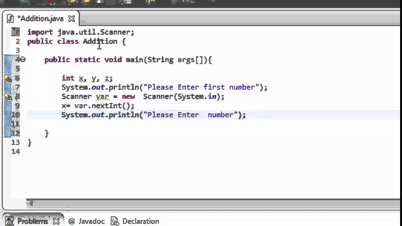 """Java Programming Tutorials for Beginners - """"Adding Two"""