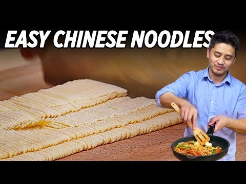 Easy Chinese Noodles Recipe That's Awesome • Taste The Chinese Recipes Show
