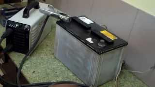 сварочный инвертор зарядка аккумулятора