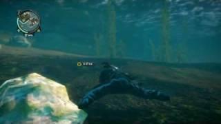 Strange Man Swimming Through Sea Bed!! JC2