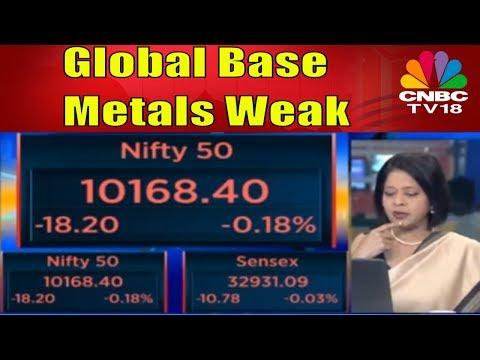 Market Start about .20% Lower | Global Base Metals Weak | CNBC TV18