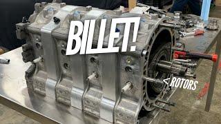 We TEARDOWN my $55K Billet 4 Rotor! Secrets of how to make HP