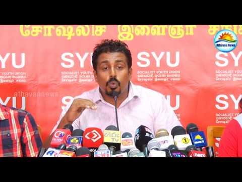 Socialist youth union press meeting