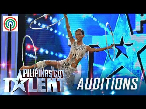 Pilipinas Got Talent Season 5 Auditions: Ronel Baladad - Hulahoop Performer