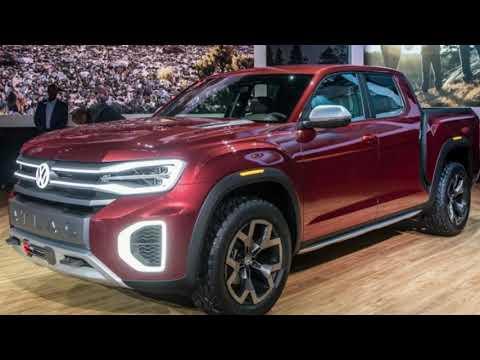 VW drops heavy hints it'll produce the Atlas Tanoak pickup