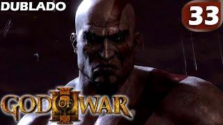 """33. God Of War III (Dublado) em Português-BR """"A Morte de Kratos """" - (MD) Final - 2/2"""